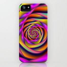 Spiral Six iPhone Case