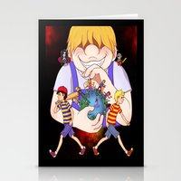 earthbound Stationery Cards featuring Earthbound 2+3 by m0ny