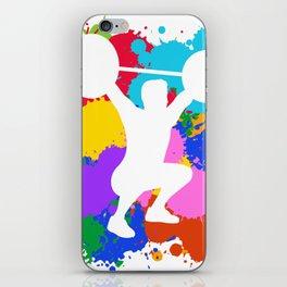 Snatch Splash Colors iPhone Skin