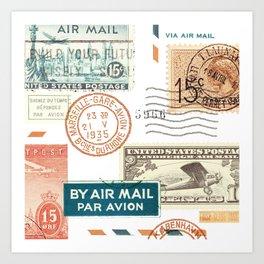 Airmail Art Print