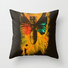 No More Trouble Throw Pillow