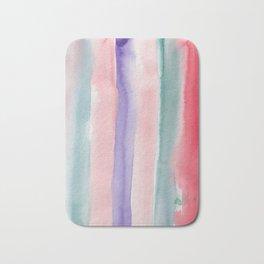 28    190907   Watercolor Abstract Painting Bath Mat
