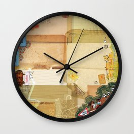 Montevideo utca Wall Clock