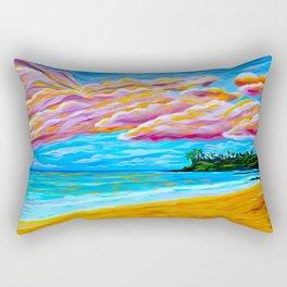 Pāʻia Bay Sunrise Rectangular Pillow
