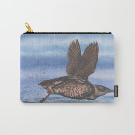 Marbled Murrelet take off Carry-All Pouch