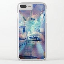 Suburban animal Clear iPhone Case