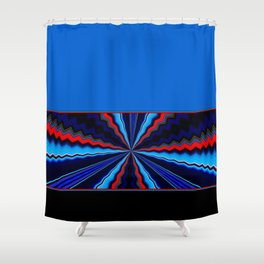 Fractures Shower Curtain