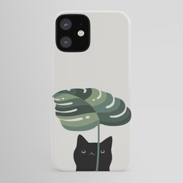 Cat and Plant 16 iPhone Case