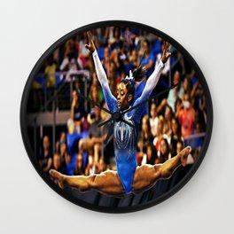 Gymnastics Queen Wall Clock