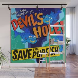 Save the Pupfish! Wall Mural