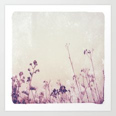 Landscape 1 (red tones) Art Print