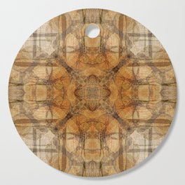 SUMMER WOODPILE ORCAS ISLAND PACIFIC NORTHWEST Cutting Board