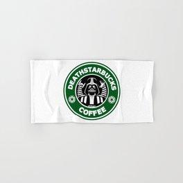 Deathstarbucks Coffee Hand & Bath Towel