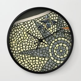 Portuguese Pavement Wall Clock