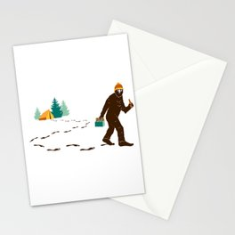 A Hairy Camp Robber Stationery Cards