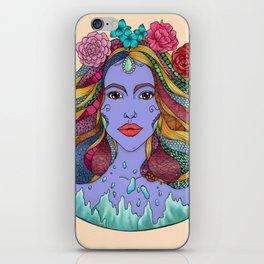 Purple Goddess iPhone Skin