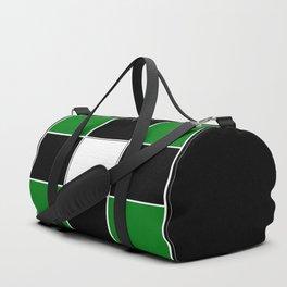 TEAM COLORS 3 ...GREEN,BLACK Duffle Bag