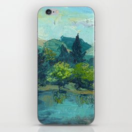 Lake Tekapo In Cambridge, New Zealand iPhone Skin