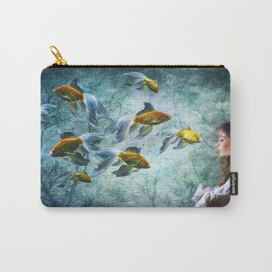 Ocean Deep Dreaming Carry-All Pouch
