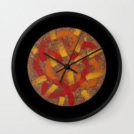 Radiate (cropped) Wall Clock