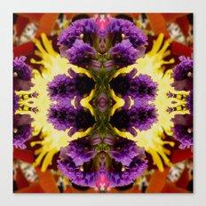 A Profusion Of Purple Pleasure Canvas Print