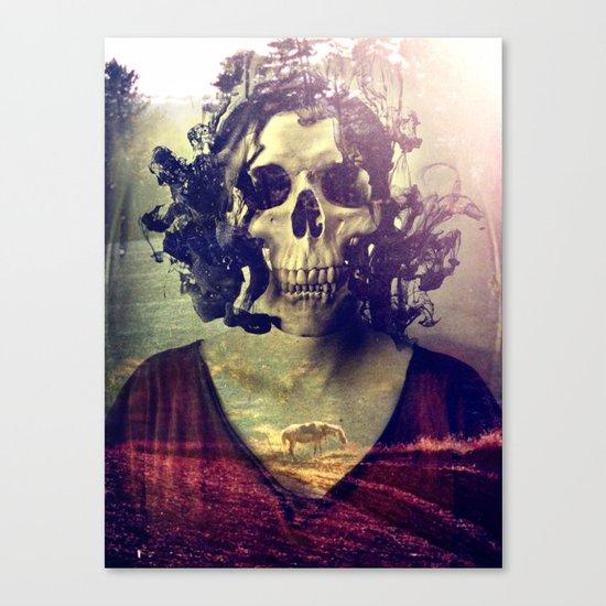 Miss Skull Canvas Print