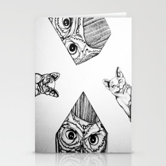 Night Watchers Stationery Cards
