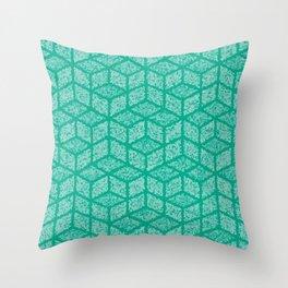 Kenna (Green) Throw Pillow