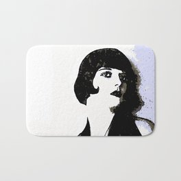 LOUISE BROOKS:  MY LOVE IS ALL I HAVE TO GIVE Bath Mat