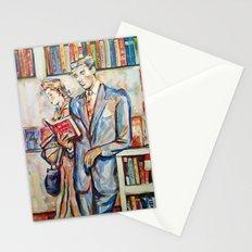 Vintage boy Stationery Cards