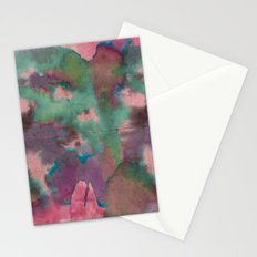 Pink Tie-dye Stationery Cards