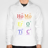 erotic Hoodies featuring HOMO EROTIC  by SLANTEDmind.com