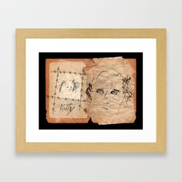 Unity Notebook.  Framed Art Print