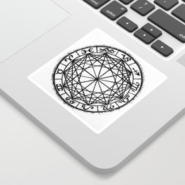 Aspects Diagram Sticker