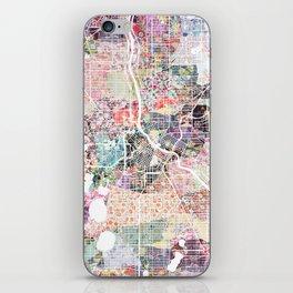Minneapolis map - Landscape iPhone Skin