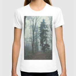 Misty Woods II #adventure #photography T-shirt