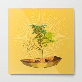 PILSNER TREE Metal Print
