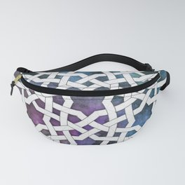 Galaxy Cutout Fanny Pack