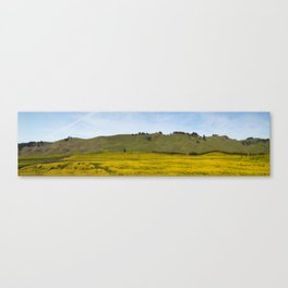 Mustard Fields Canvas Print