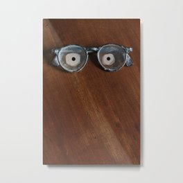 They're Watching You  Metal Print