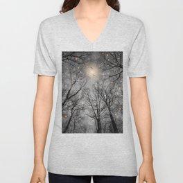 Nature Blazes (Ash Embers) Unisex V-Neck