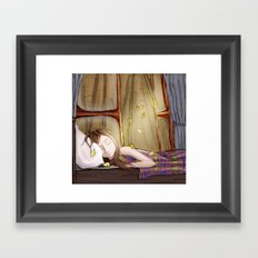 I wish it would rain autumn again Framed Art Print