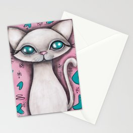 Susan  Cat Stationery Cards