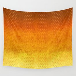 """Sabana Sunset Degraded Polka Dots"" Wall Tapestry"