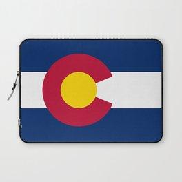 Colorado State Flag Laptop Sleeve