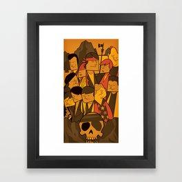 The Goonies Framed Art Print