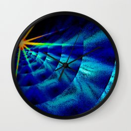 Love is the light in darkness ... Wall Clock