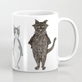Pip and Pru cats Coffee Mug
