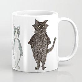 Pip and Pru cats Coffee Mug