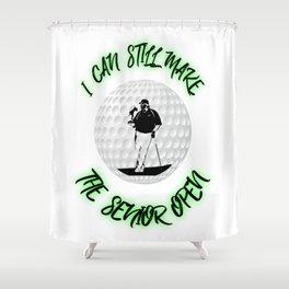 Great Golf apparel, shirt, gift Shower Curtain